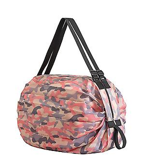 Large Capacity Thickening Nylon Large Tote ECO Reusable Polyester Portable Shoulder Women's Handbags