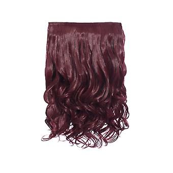 IKRUSH Womens Intense Volume Curly ClipHair Extensions