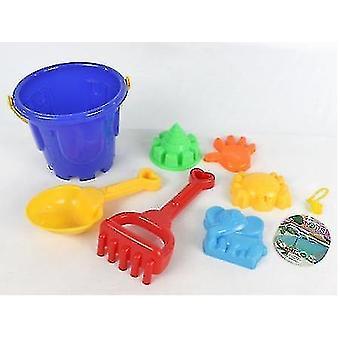 7 Pcs 어린이 해변 장난감 도구, 삽과 레이크 포함