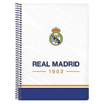 Sormusten kirja Real Madrid C.F. Sininen Valkoinen A5