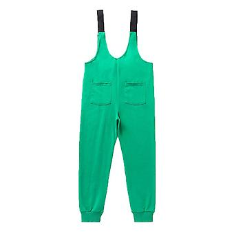 Kids Boy Girl Christmas Strap Jumpsuit Pants Dungarees Overalls Trousers