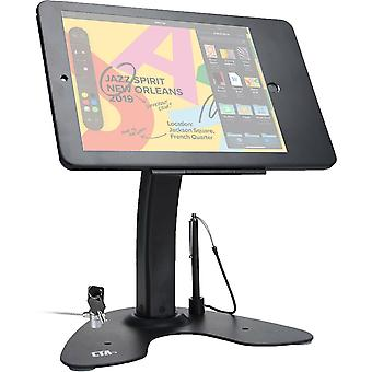 """Computer risers stands kiosk stand with locking case cable for ipad 10.2"""" 7Th gen  black"""