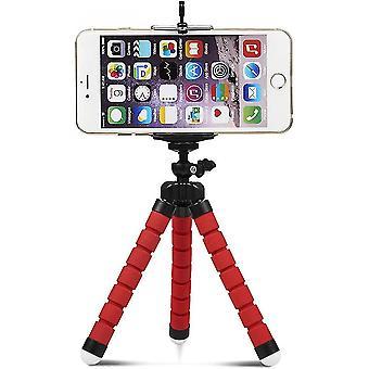 Trépied de téléphone, support de trépied portable et réglable, trépied d'appareil photo