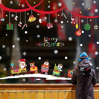 Weihnachtsfensterbilder, Schneeflocken Weihnachtsschmuck, Weihnachtsschmuck