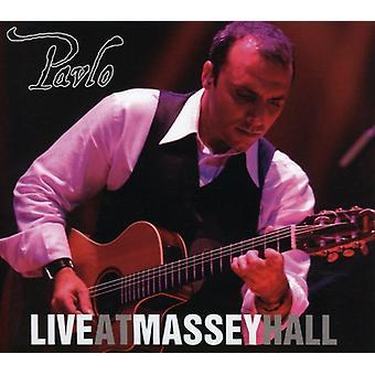 Pavlo - Live à l'importation USA Massey Hall [CD]