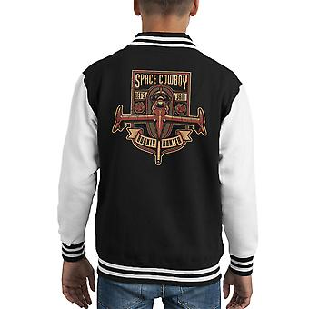 Just A Humble Bounty Hunter Cowboy Bebop Kid's Varsity Jacket