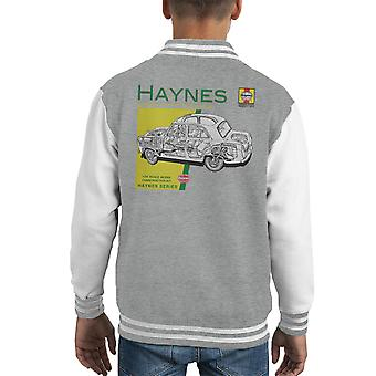 Haynes Owners Workshop Manual 0069 Ford Prefect Kid's Varsity Jacket