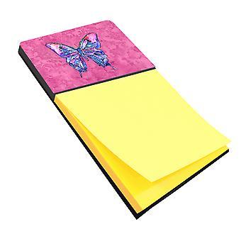 Бабочка на розовый Refiillable записки владельца или Postit Примечание распылитель