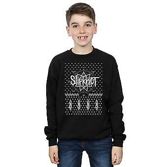 Slipknot garçons 9 Point Noël Sweatshirt