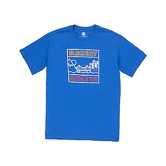 Element Link Short Sleeve T-Shirt in Olympian Blue