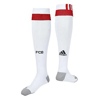 2017-2018 Bayern Munich Adidas Third Football Socks (White)