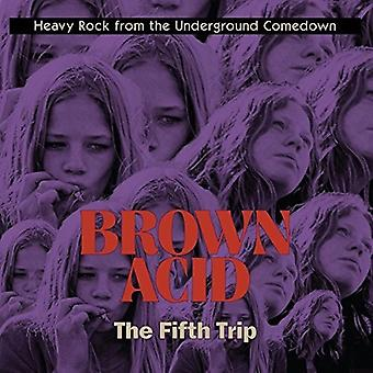 Various Artist - Brown Acid - the Fifth Trip [Vinyl] USA import
