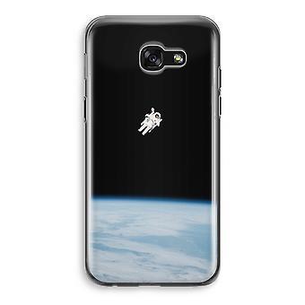 Samsung Galaxy A5 (2017) läpinäkyvä kotelo (pehmeä) - yksin avaruudessa