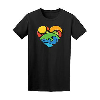 Heart Shaped T-Shirt Nature - Image de Shutterstock