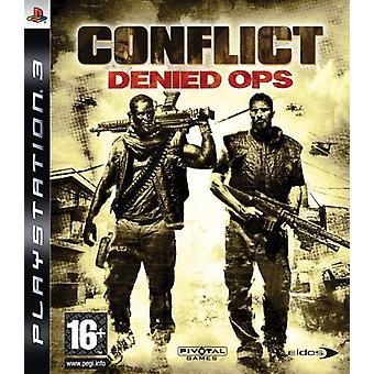 Conflit refusé Ops (PS3) - Nouveau