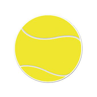 Tennis Ball knipsel 10""