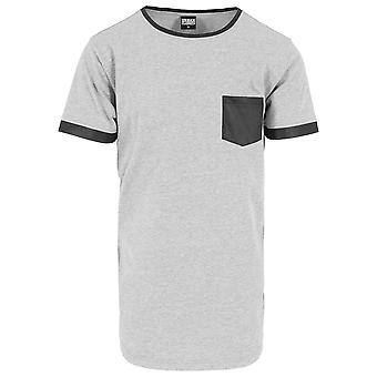 Urban classics T-Shirt shaped leather imitation