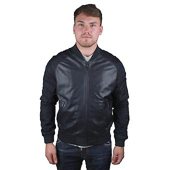 Emporio Armani W1B54P W1P58 0011 Leather Jacket