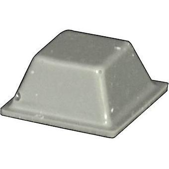 تولكرافت PD2126G القدم ذاتية اللصق، مربع رمادي (L × العرض × العمق × الارتفاع) 12.6 x 12.6 × 5.7 مم 1 pc(s)