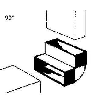 Wallair 20200113 vlakke kanaal ventilatiesysteem 100 mm deflector