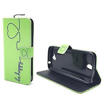 Matkapuhelin tapauksessa pussi mobile Huawei Y6 olla onnellinen vihreä