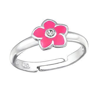 Flower - 925 Sterling Silver Rings - W25145x
