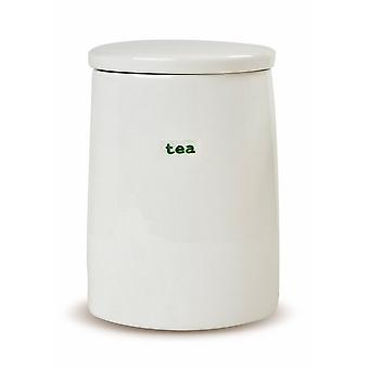 Keith Brymer Jones Word Range Porcelain Storage Jar Tea