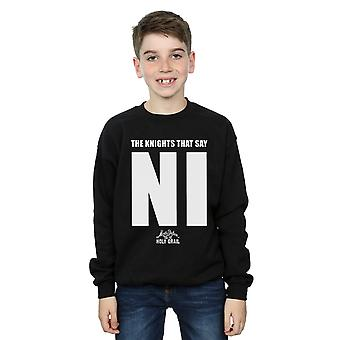 Monty Python Boys Knights Who Say NI Sweatshirt