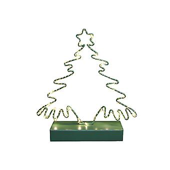 Light Glow LED Green Christmas Tree Decoration