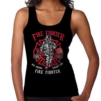 Fire colete Fighter departamento feminino