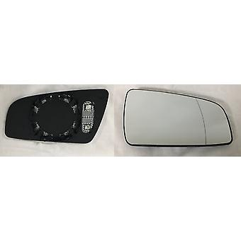 Right Driver Side Mirror Glass (Heated) & Holder For OPEL ZAFIRA 2005-2009