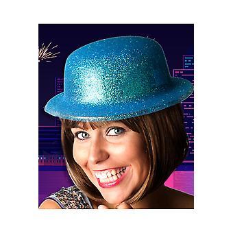 Brokat kapelusz kapelusze turkus melonik