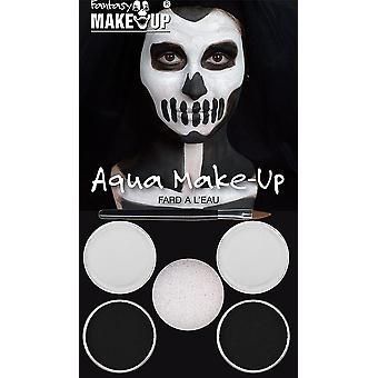 Kit de maquiagem Aqua preto/branco