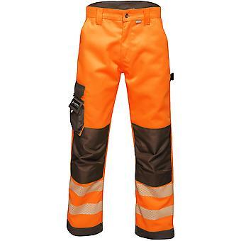 Tactical Threads Mens Hi Vis Hardwearing Workwear Trousers