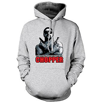 Mens Hoodie - Chopper - Reid Good Yarn - Movie - Comedy