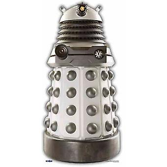 White Supreme Dalek - BBC Doctor Who / Dr Who / Dr. Who - Lifesize Cardboard Cutout / Standee /  - Lifesize Cardboard Cutout / Standee