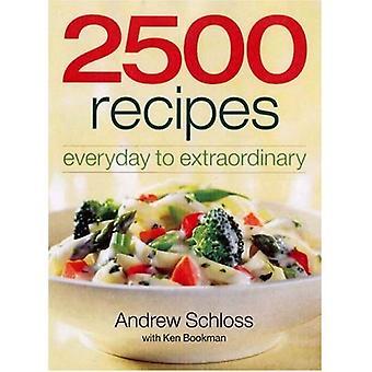 2500 recept: vardagliga extraordinära