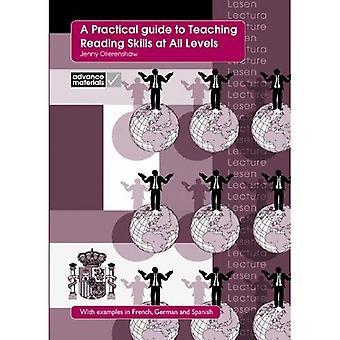 Una guida pratica all'insegnamento di competenze a tutti i livelli di lettura: con esempi in francese, tedesco e spagnolo