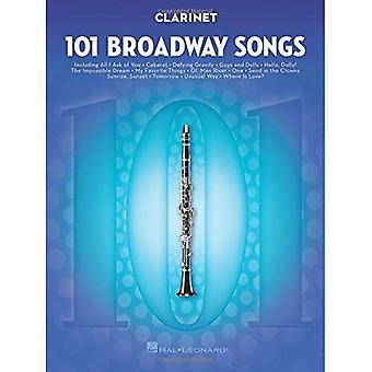 101 Broadway Songs - Klarinetti
