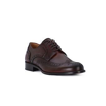 Exton wooden calf shoes