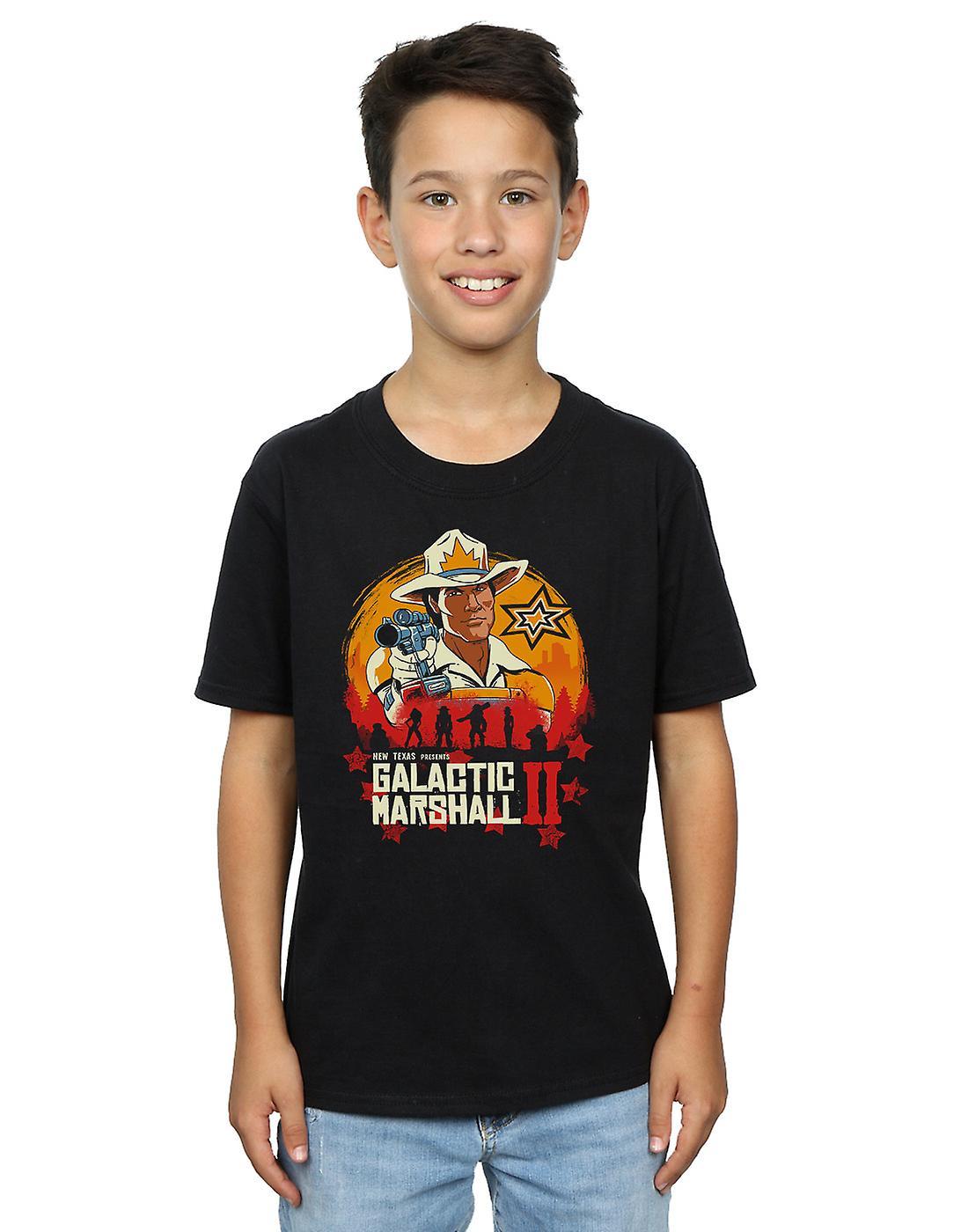 Vincent Trinidad Boys Red Galactic Marshall II T-Shirt