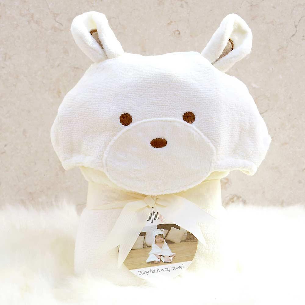 Smiley Bear baby towel