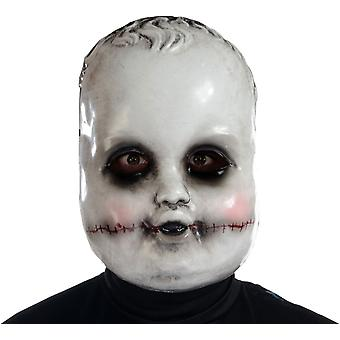 Smiling Sammie Doll Mask For Halloween