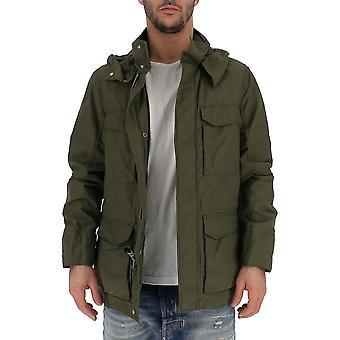 Woolrich Wocps2791ut12086101 Men's Green Nylon Outerwear Jacket