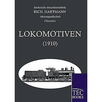 Alle Lokomotoven 1910 door Maschinenfabrik & Sachsische