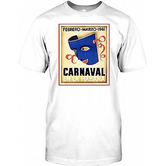 Carnaval da La Habana - Cuba rejser Retro plakat børn T Shirt