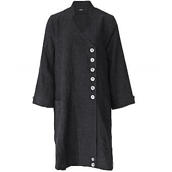 Ralston Linen Atam Wrap Button Jacket