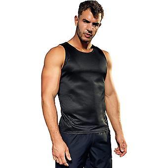 Outdoor Look Mens Contrast Lightweight Wicking Vest Top