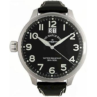 Zeno-Watch Herrenuhr Super Oversized (crown on left) 6221-7003Q-Left-a1
