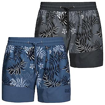Jack Wolfskin Mens Leaf Swim Shorts